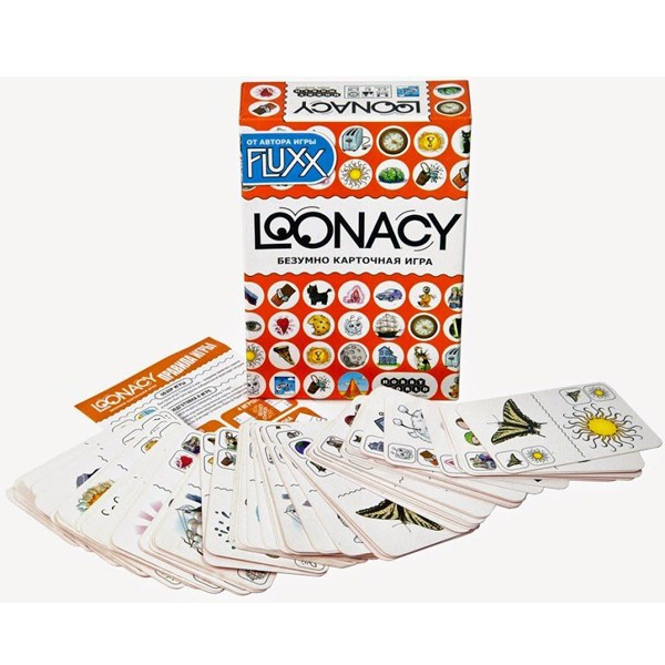 """Настольная игра """"Loonacy"""", Hobby World"""