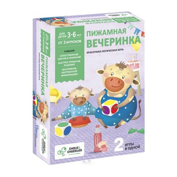 """Настольная игра """"Пижамная вечеринка"""", Chalk&Chuckles"""