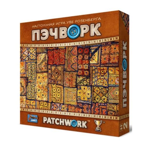 """Настольная игра """"Пэчворк""""(Patchwork), Crowd Games"""