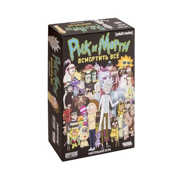 """Настольная игра """"Рик и Морти: Всмортить всё"""", Hobby World"""