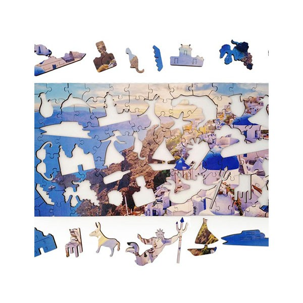 "Пазл ""Санторини"", 126 элементов (Citypuzzles)"