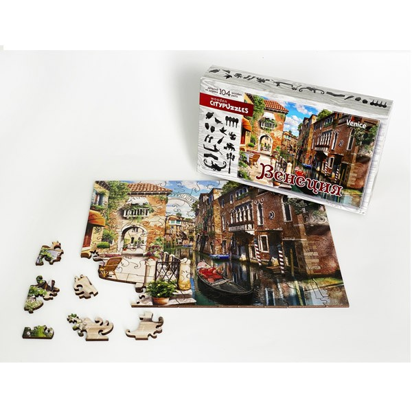 "Пазл ""Венеция"", 104 детали (Citypuzzles)"