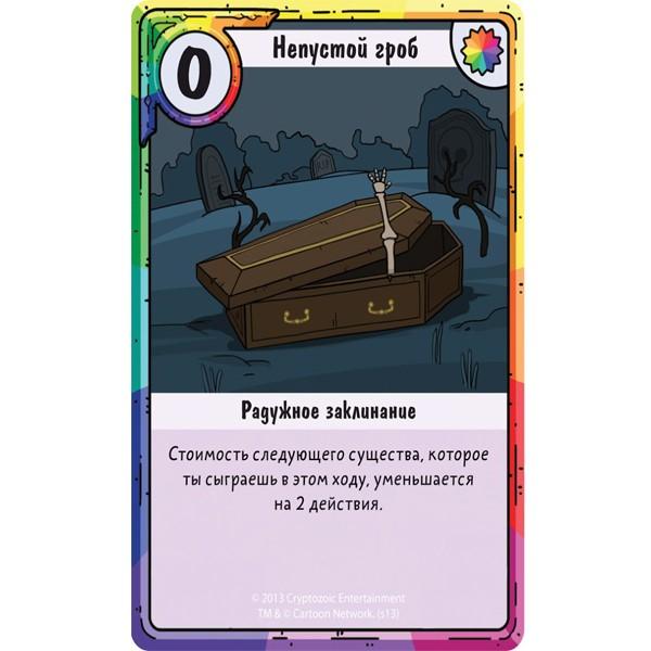 """Настольная игра """"Adventure Time. Карточные войны. Бимо против Леди Ливнерог"""", Hobby World"""