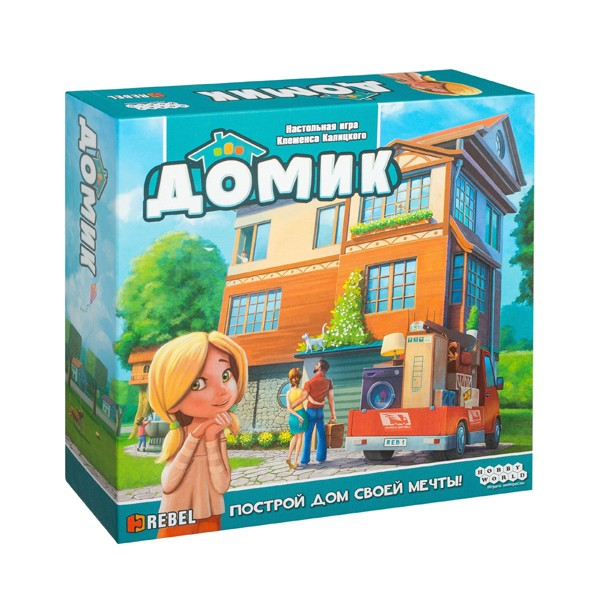 "Настольная игра ""Домик"", Hobby World"