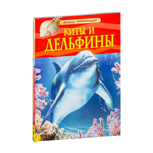 """Детская энциклопедия """"Киты и дельфины"""", РОСМЭН"""