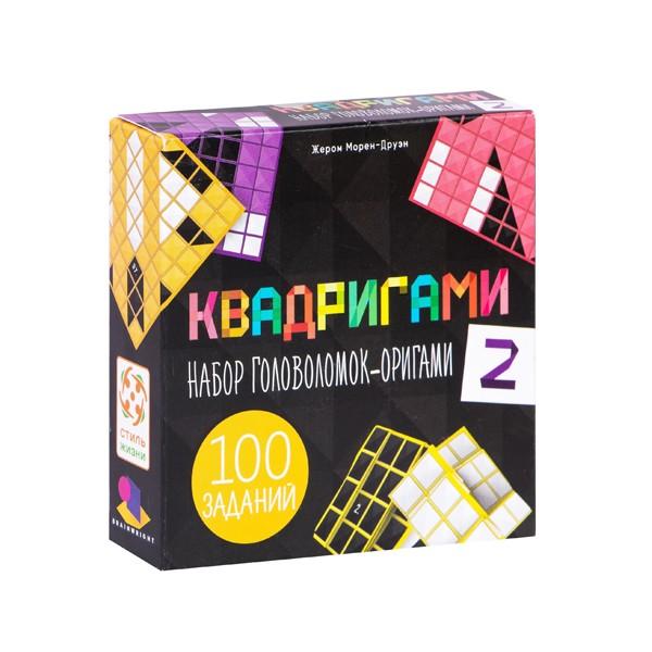 """Настольная игра-головоломка """"Квадригами 2"""", Стиль Жизни"""