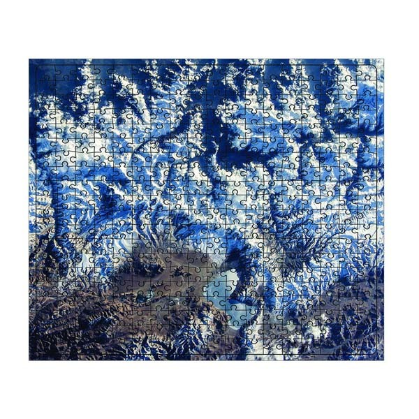 """Пазл """"Удивительная Земля. Нагорье Тибет"""" 04580 (360 элементов), Origami"""