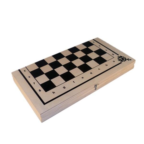"""Настольная игра 3в1 """"Шахматы, шашки, нарды"""", Колорит"""