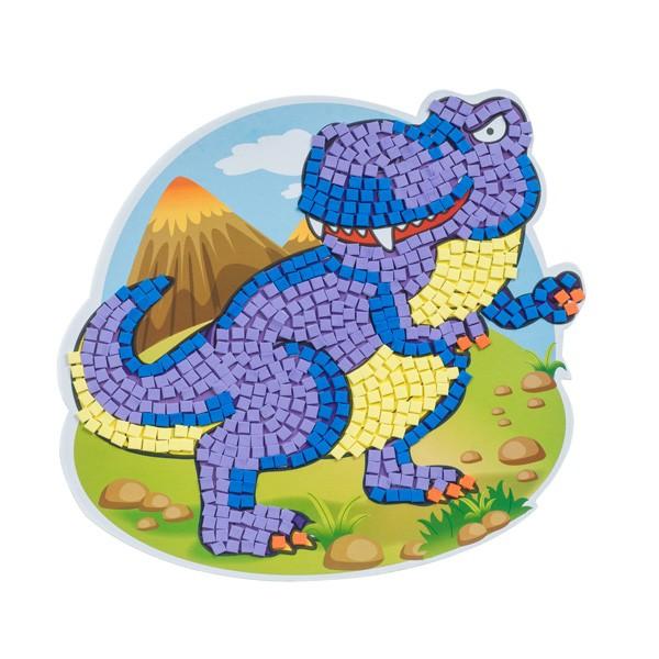 """Набор для творчества """"3D картина. Доисторические динозавры"""", Bondibon"""