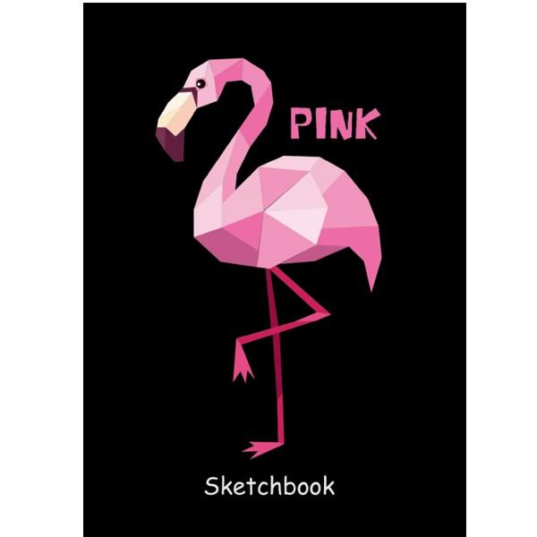 "Скетчбук А5 ""Фламинго"", Проф-Пресс"