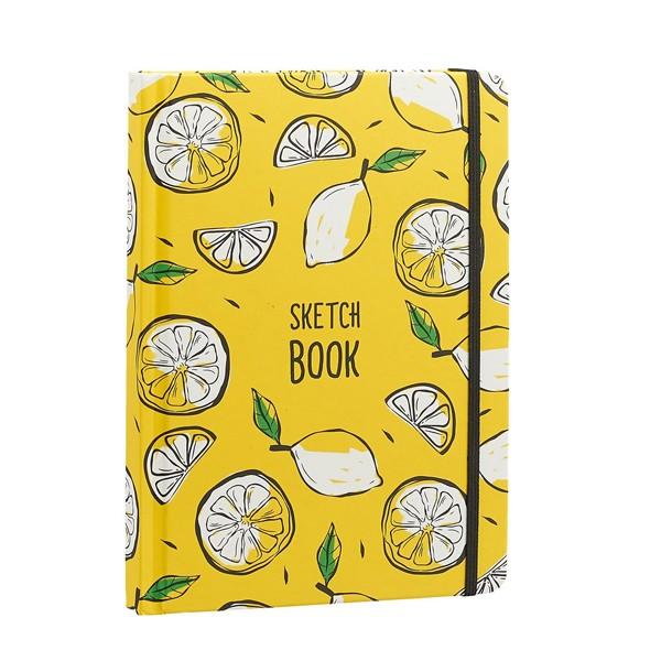 """Скетчбук А5 """"Лимоны"""", Проф-Пресс"""