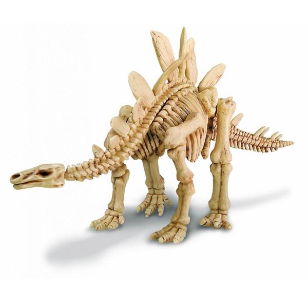 """Набор для раскопок """"Мир динозавров. Скелет Стегозавра"""", 4М"""