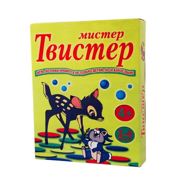 """Напольная игра """"Мистер-твистер"""", Нескучные игры"""