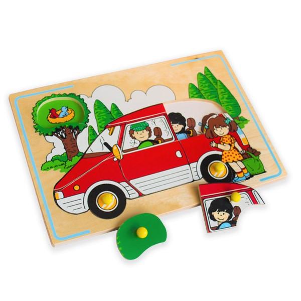 """Игрушка детская деревянная """"Автомобиль"""", ЛЭМ"""