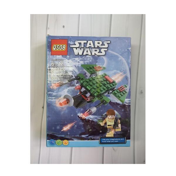 """Конструктор QSO8 """"Star Wars. Космолет"""" 77 деталей 88039"""