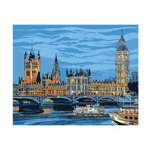"Картина по номерам ""Лондон"" RL001"