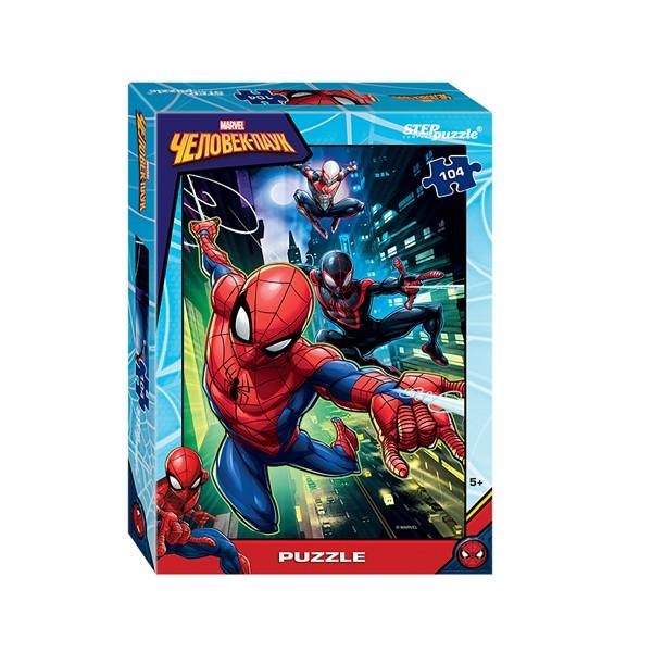 "Пазл 104 деталей ""Человек-паук-2"" (Marvel), Step Puzzle"