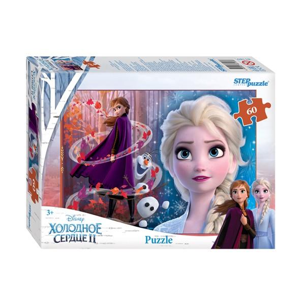 "Пазл 60 деталей ""Холодное сердце - 2"" (Disney), Step Puzzle"