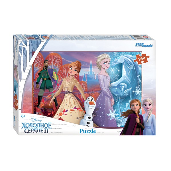 "Пазл 160 деталей ""Холодное сердце - 2"" (Disney), Step Puzzle"