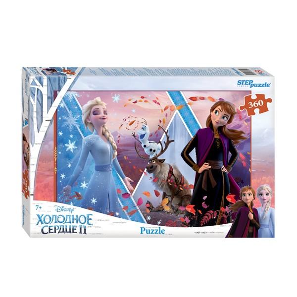 "Пазл 360 деталей ""Холодное сердце - 2"" (Disney), Step Puzzle"