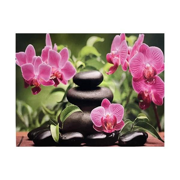 """Алмазная мозаика """"Розовая орхидея"""", WB2528"""