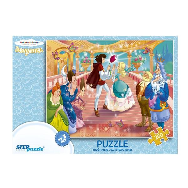 "Пазл 260 деталей ""Золушка"" (С/м), Step Puzzle"