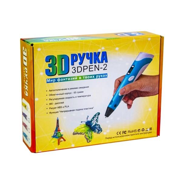 """Набор для детей """"3D ручка с LCD дисплеем"""", 3D PEN-2"""