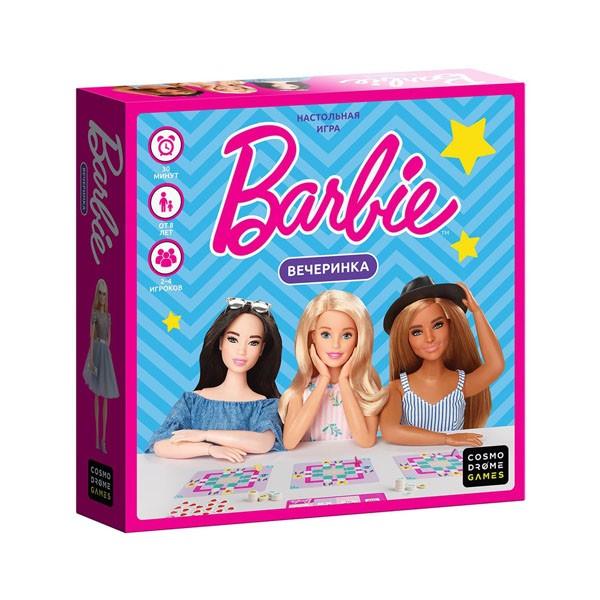 """Настольная игра """"Barbie. Вечеринка"""", Cosmodrome Games"""
